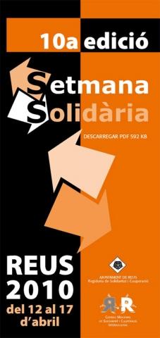 10a Setmana Solidària a Reus, del 12 al 17 d'abril