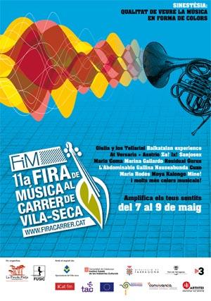 11a Fira de Música al Carrer de Vila-seca, del 7 al 9 de maig