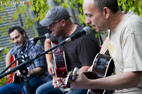 Concert de The Lost Acoustic Show el 2 de juliol al c/Sant Llorenç dins el festival Reus Blues