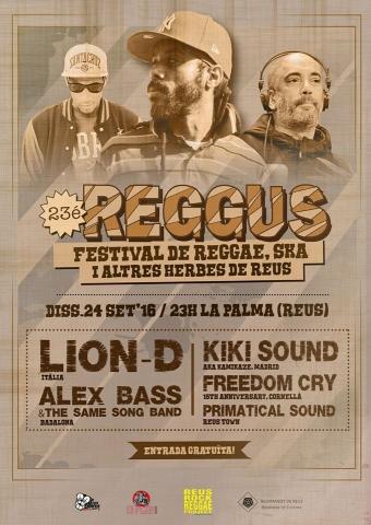 23è festival Reggus el 24 de setembre a La Palma de Reus