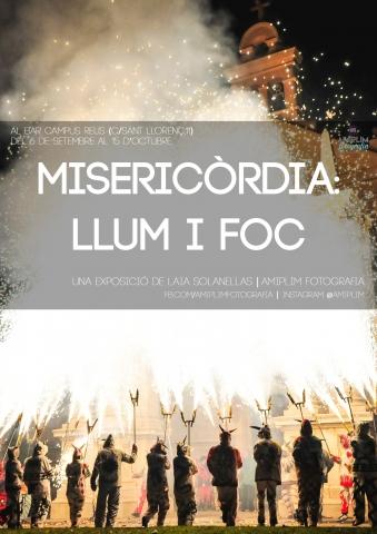 «Misericòrdia: llum i foc» exposició de fotografies de Laia Solanellas al bar Campus, un recorregut per la Festa Major petita de Reus