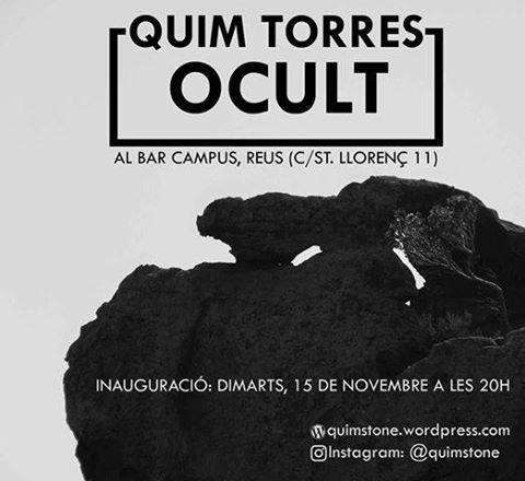 'Ocult', exposició fotogràfica de Quim Torres al Bar Campus