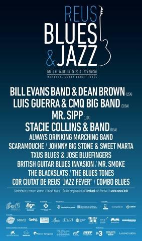 27è Festival Reus Blues, del 6 al 16 de juliol