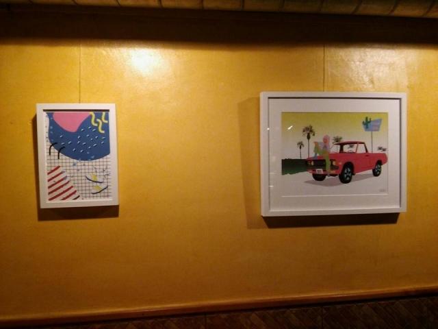 Colorcoconut, exposició d'estiu al Bar Campus, obres de Cora