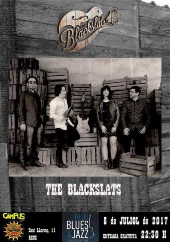 Concert de The BlackSlats el dissabte 8 de juliol al c/Sant Llorenç de Reus