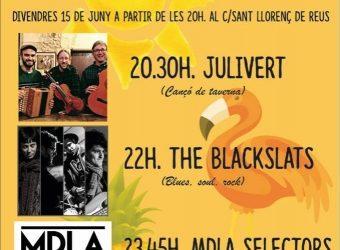 Festa-Concert al carrer Sant Llorenç de Reus