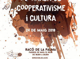 1a Jornada de Cooperativisme i Cultura el 24 de maig a Reus