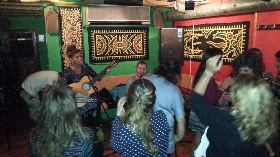 Bali Cejas en concert