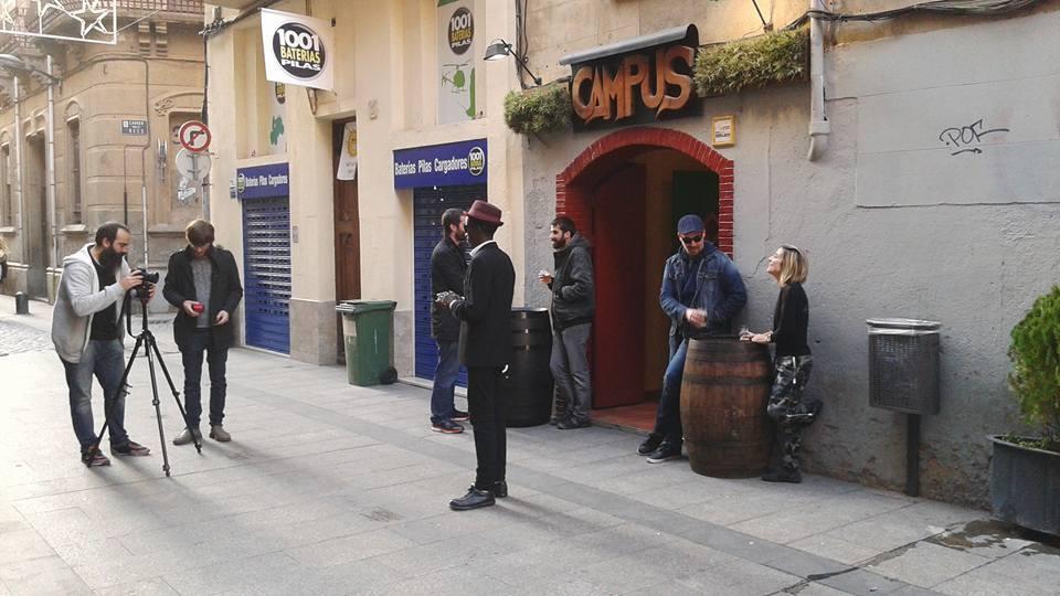 Rodant videoclip Juantxo Skalari
