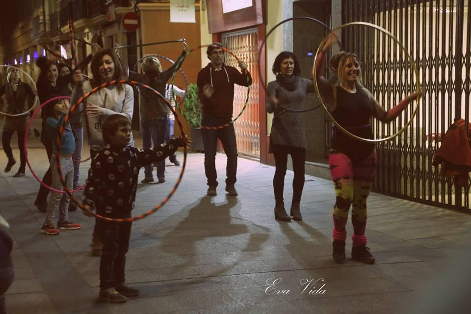 Hula hop party