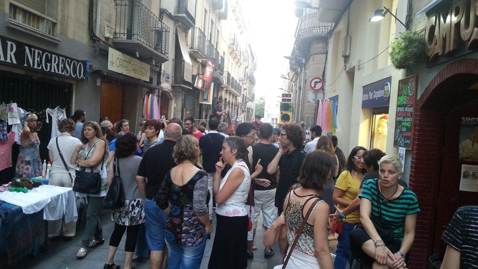 Festa al carrer i mercadet d'intercanvi