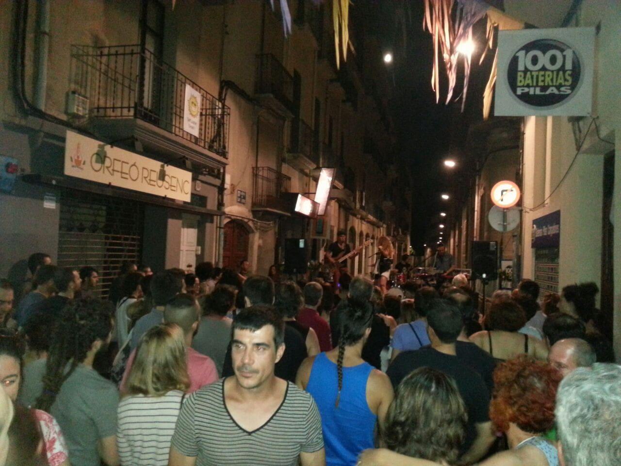 La festa al carrer