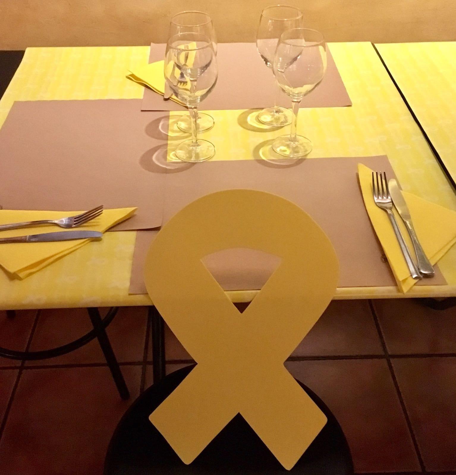 Sopar groc al Campus
