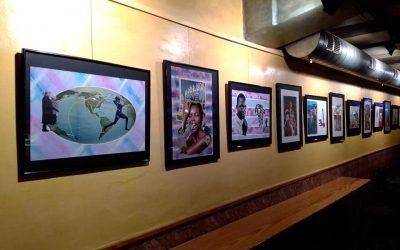 'Collage', exposició d'Anna Franco al Bar Campus